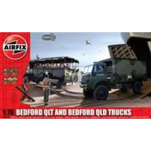Airfix Bedford Qlt And Bedford Qld Trucks imagine