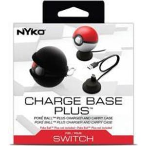 Accesoriu Nyko Charge Base Plus Poke Ball Nintendo Switch imagine