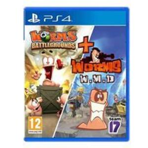 Worms Battlegrounds And Worms Wmd Double Ps4 imagine