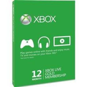 Gold Card Xbox 360 Live 12 Months Xbox360 imagine