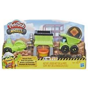 Jucarie Play Doh Wheels Gravel Yard Construction Toy imagine