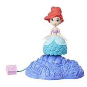 Mini Figurina Disney Princess Ariel Cu Suport Rotativ imagine