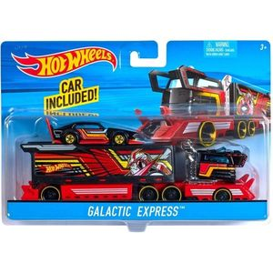 Set 2 masinute Hot Wheels Super Rig Collection imagine