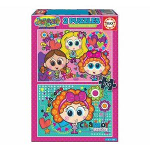 Puzzle Distroller, 2 x 48 piese imagine
