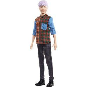 Papusa Barbie Fashionistas, Ken GHW70 imagine