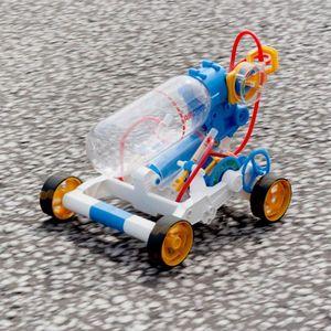 Kit robotica de constructie Masina cu motor pe aer (EN) imagine