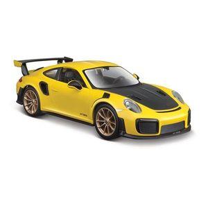 Masinuta Maisto Porsche 911 GT2 RS, 1: 24, Galben imagine
