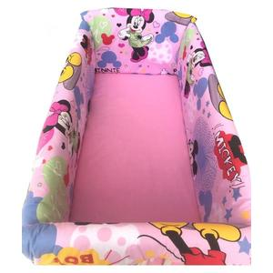 Lenjerie de pat Maxi Minnie Mouse 120x60 cm imagine