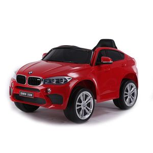 Masinuta electrica cu roti de cauciuc BMW X6M Red JJ2199 imagine