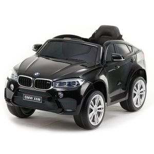 Masinuta electrica cu roti din cauciuc BMW X6M Black JJ2199 imagine