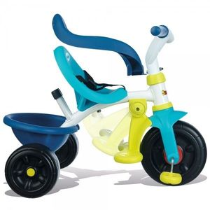 Tricicleta Pentru Copii Smoby Be Fun - Blue imagine