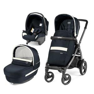 Carucior 3 In 1, Peg Perego, Book Plus 51 S, Titania, Luxe - Luxe Prestige imagine
