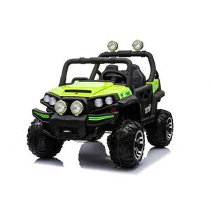 Masinuta electrica 12V cu 2 locuri Nichiduta Speed Car UTV 4x4 Green imagine