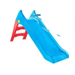 Tobogan pentru copii Mochtoys Slide 140 cm BlueGreen imagine