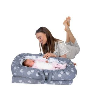 Co-sleeper anti-reflux Dandelion Sevibaby imagine