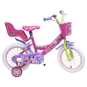 Bicicleta Minnie Mouse, 14 inch imagine