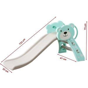 Tobogan Bear Turquoise 133 cm imagine
