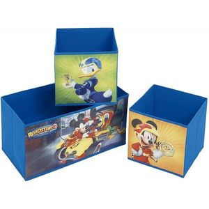 Organizator pentru jucarii cu structura metalica Mickey Mouse and The Roadster Racers imagine