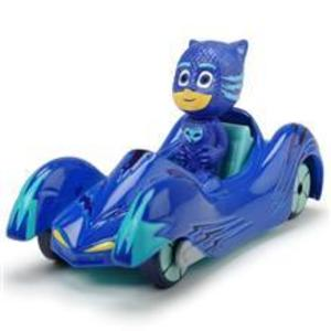 Masina Dicki Toys Eroi In Pijamale Cat-Car Cu Figurina imagine