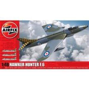 Kit Constructie Airfix Avion Hawker Hunter F6 1: 48 imagine