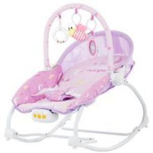 Scaunel balansoar Chipolino Fiesta pink imagine