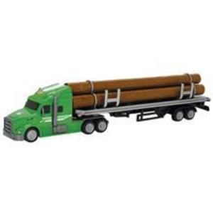 Camion Dickie Toys Road Truck Log imagine