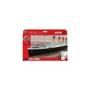 Kit Constructie Airfix Nava De Croaziera R.M.S. Titanic Gift Set 1: 1000 imagine