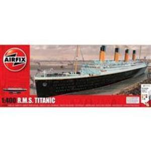 Kit Constructie Airfix Nava De Croaziera R.M.S. Titanic Gift Set 1: 400 imagine
