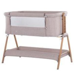 Patut Co-Sleeper Chipolino Sweet Dreams Mocca Wood imagine