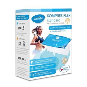 Compresa medicala Sanity Flex Standard 10 x 26 cm imagine