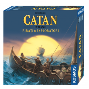 Catan - Extensie Pirati Exploratori 2-4 (RO) imagine