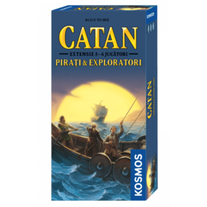 Catan - Extensie Pirati Exploratori 5-6 (RO) imagine
