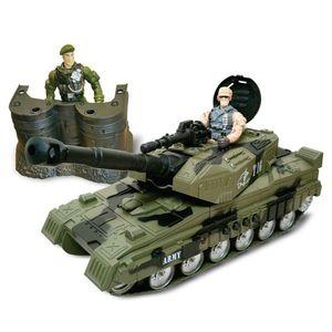 Set militar cu tanc si figurine Cool Machines imagine