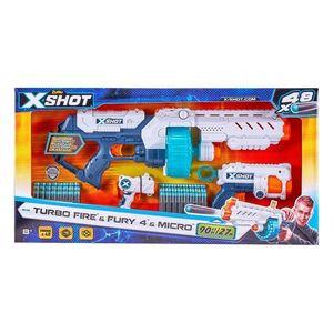 Blaster X-Shot Combo Pack Turbo Fire Fury, 48 proiectile imagine
