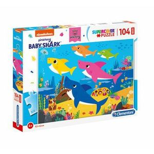 Puzzle Maxi Baby Shark, 104 piese imagine