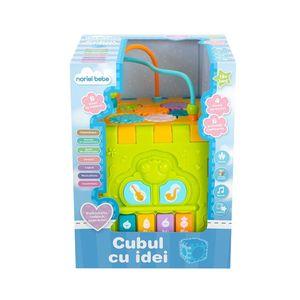 Jucarie bebelusi Noriel Bebe, Cubul cu idei imagine
