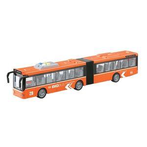 Autobuz articulat cu lumini si sunete Cool Machines, 1: 16 imagine