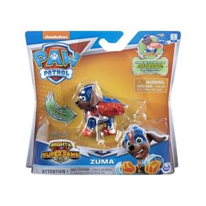 Figurina Paw Patrol Mighty Pups Super Paws, Zuma 20114290 imagine