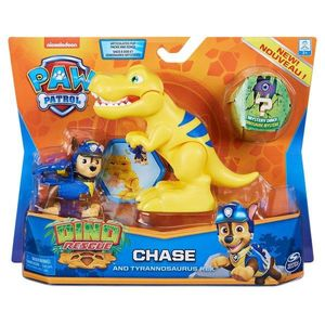 Set 2 figurine Paw Patrol Dino Rescue, Chase and Tyrannosaurus Rex, 20126399 imagine