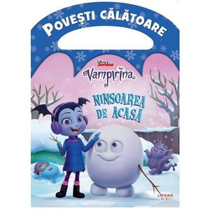Carte Editura Litera, Disney, Vampirina, Ninsoarea de acasa imagine