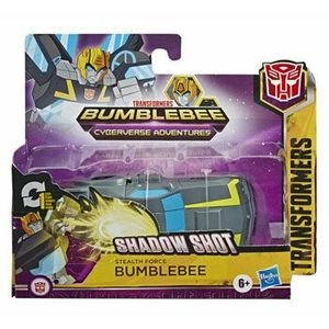 Transformers Cyberverse - Figurina 1-Step Changer Stealth Force Bumblebee imagine