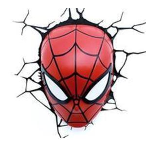 Jucarie Spider-Man Face 3D Deco Light imagine