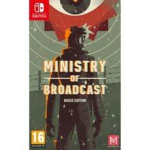 Ministry Of Broadcast Badge Collector S Edition Nintendo Switch Game imagine