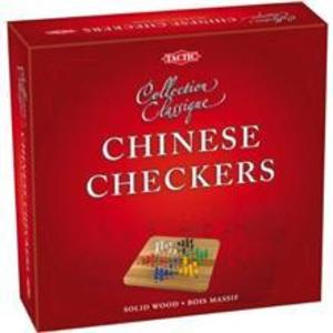 Chinese Checkers - Wooden Classic Game - Tactic Games Board Game imagine