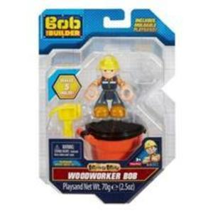 Fisher Price Bob The Builder - Woodworker Bob Action Figure - Includes Moldable Playsand! (Dyt91) imagine