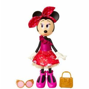 Papusa Minnie Mouse extra chic, 24 cm imagine