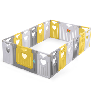 Gardulet loc de joaca 160 x 240 cm Nichiduta Birdy YellowGrey imagine