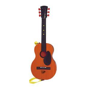 Chitara rock country cu functii audio Simba, 54 cm, maro imagine
