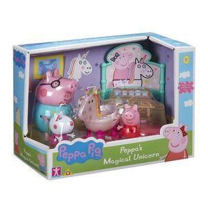 Set figurine Peppa Pig, Magical unicorn imagine