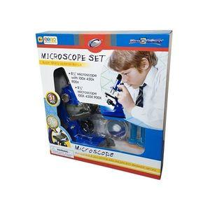 Set Eastcolight Microscop 100/450/900X, 51 piese imagine
